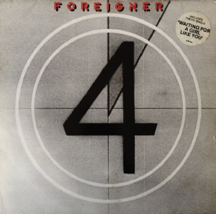 Foreigner ‎- 4 (LP) (G-VG-/G+)